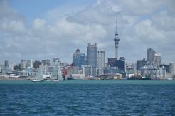 Auckland as seen from Devonport