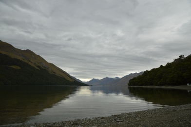 Beautiful view of Northern Mavora Lake.