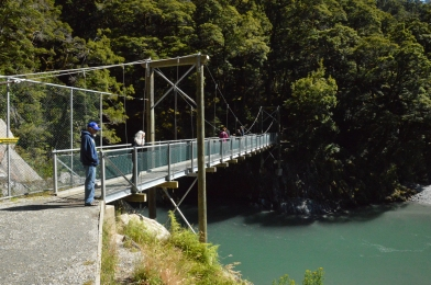 Bridge over the Blue Pools