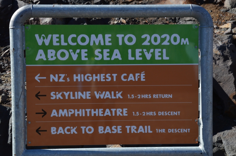 2020 m above Sea Level!