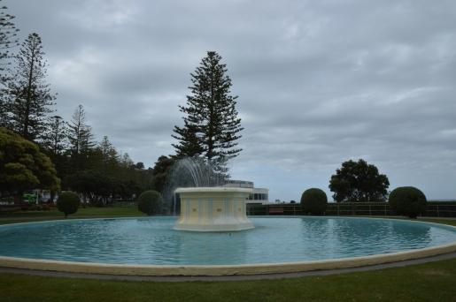 Art Deco Fountain.